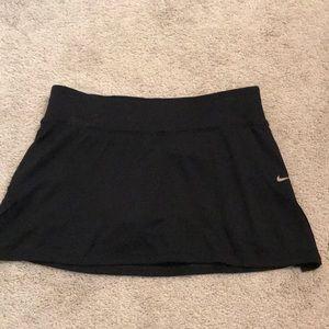 Nike tennis golf shirt with shorts